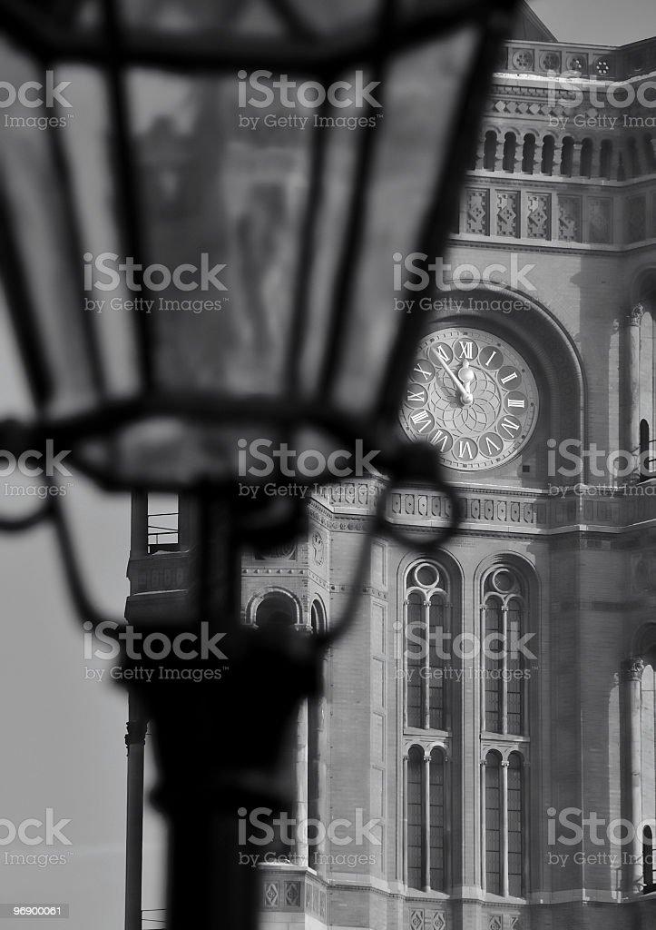 Berliner Rathaus royalty-free stock photo