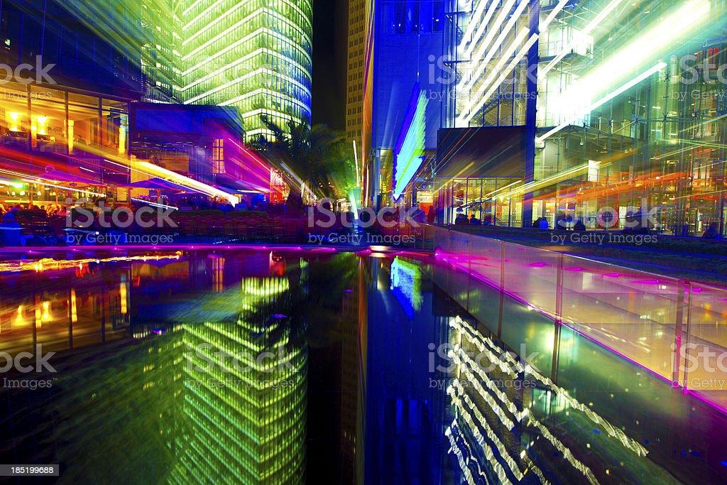 Berlin's light stock photo