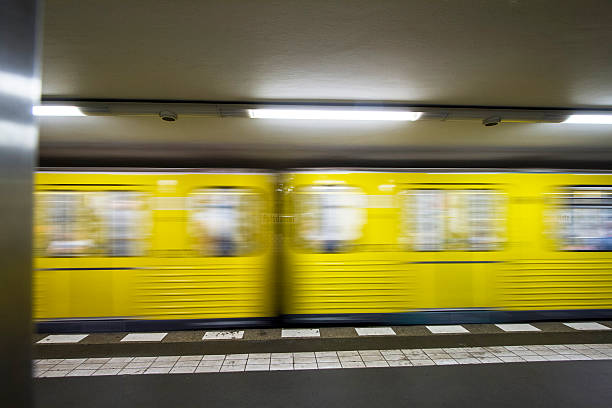 Berlin's Speed metro stock photo