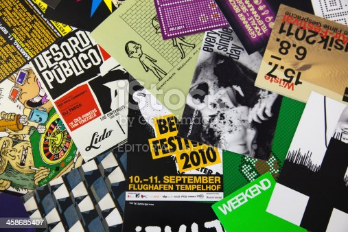 istock Berlin's typography 458685407