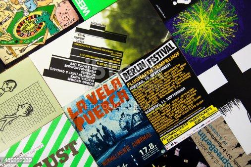 istock Berlin's typography 459222339