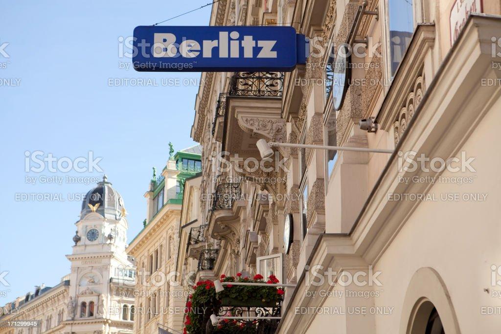 Berlitz sign