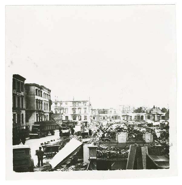 Bermen Germany During World War Two stock photo
