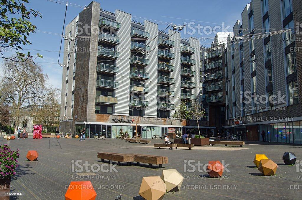 Bermondsey Square, London stock photo