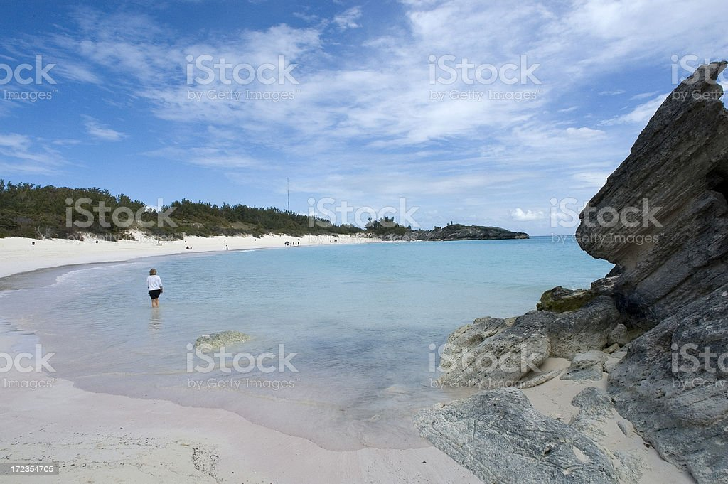 Bermuda Beach royalty-free stock photo