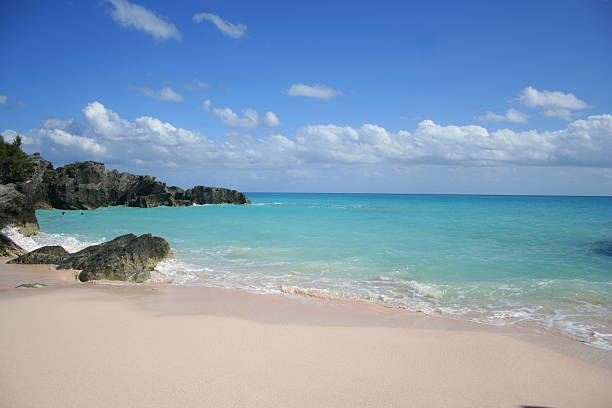 Bermuda Beach stock photo
