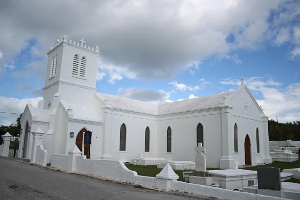 Bermuda Church stock photo