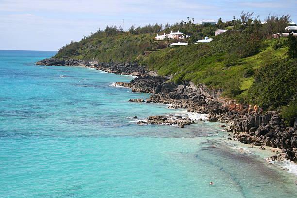 Bermuda Coast stock photo