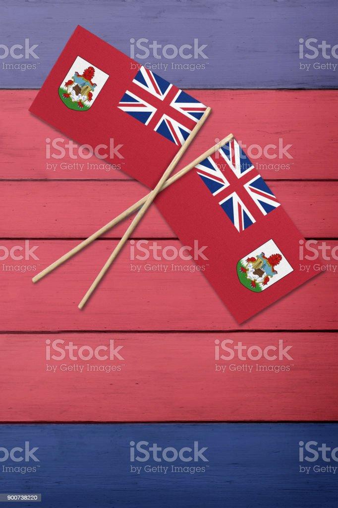 Bermuda Flag stock photo