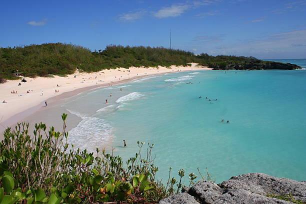 Bermuda, Horseshoe Bay stock photo