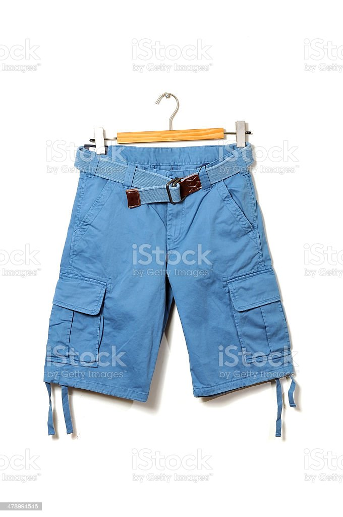 Bermuda shorts stock photo