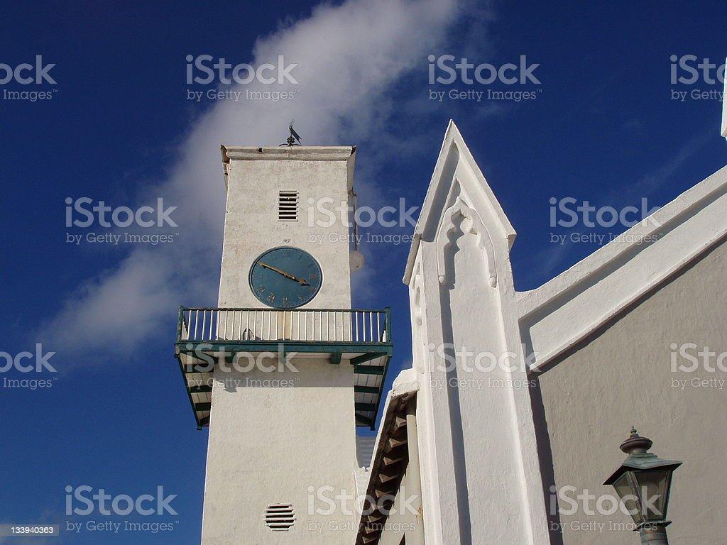 Bermudian Church royalty-free stock photo