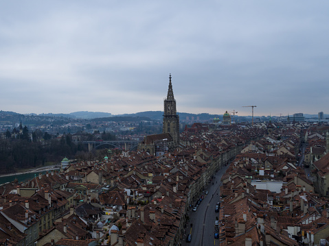 Bern by Aerial View