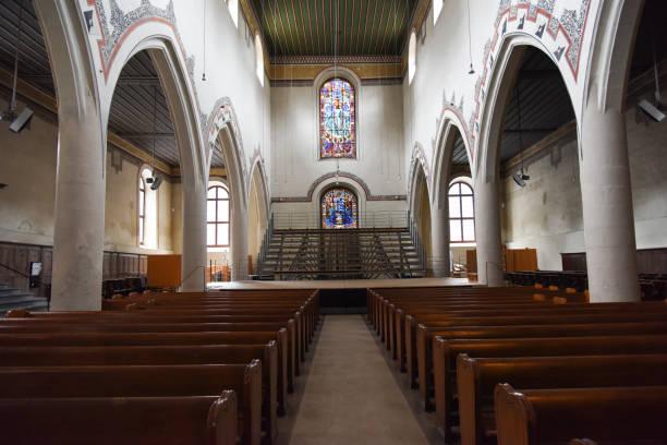 Bern - French Church stock photo