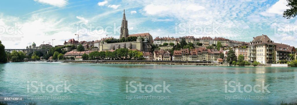 Bern panorama royalty-free stock photo