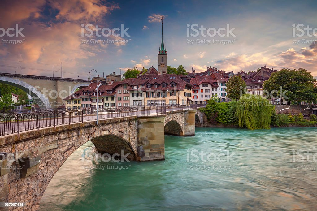 Bern. stock photo