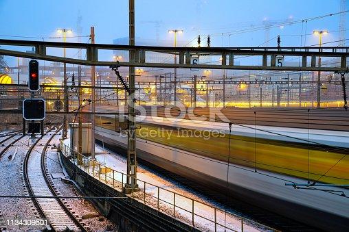 Bahnhof Bern, Schweiz