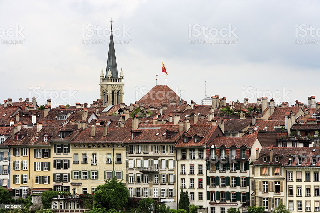 Bern, Switzerland City View stock photo