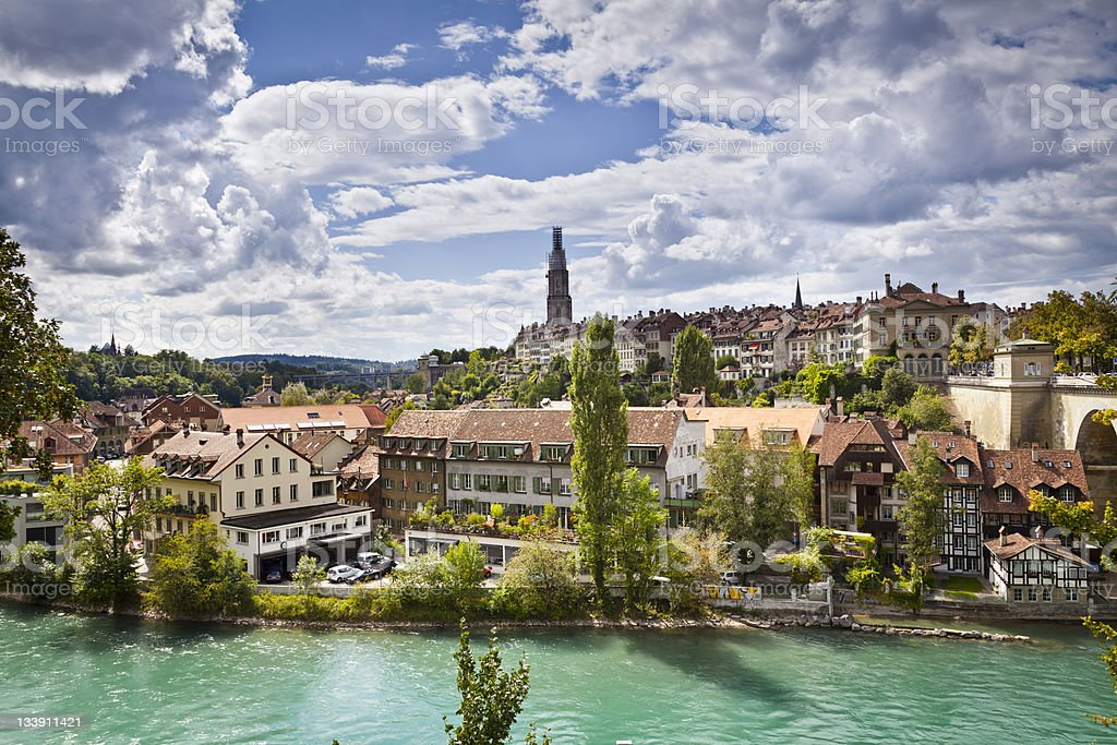Bern Switzerland stock photo