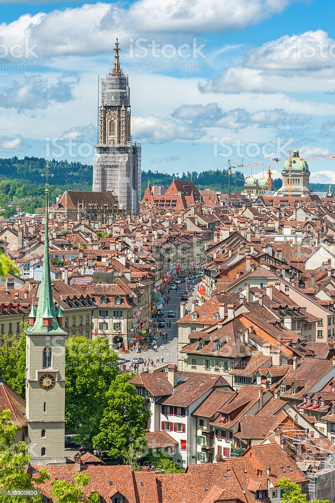 Bern, Switzerland stock photo
