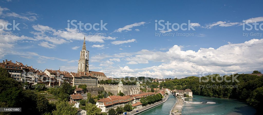 Berne - Capitol of Switzerland stock photo