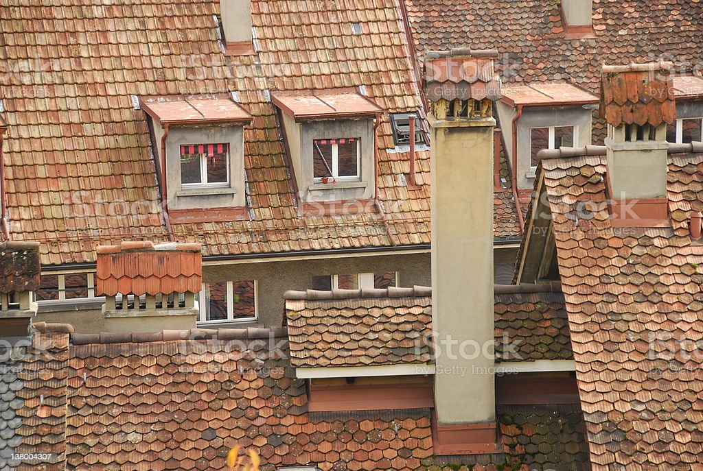 Berne Houses royalty-free stock photo