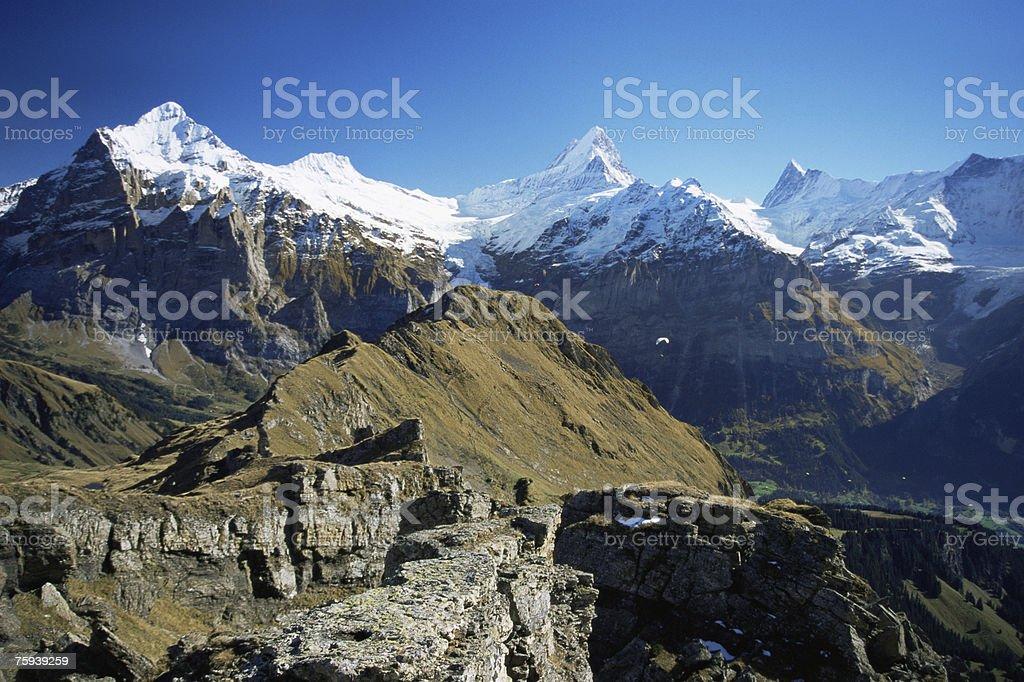 Berner oberland foto de stock royalty-free