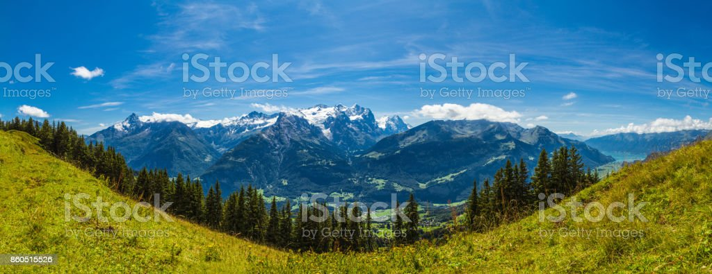 Berner Oberland Schweiz stock photo