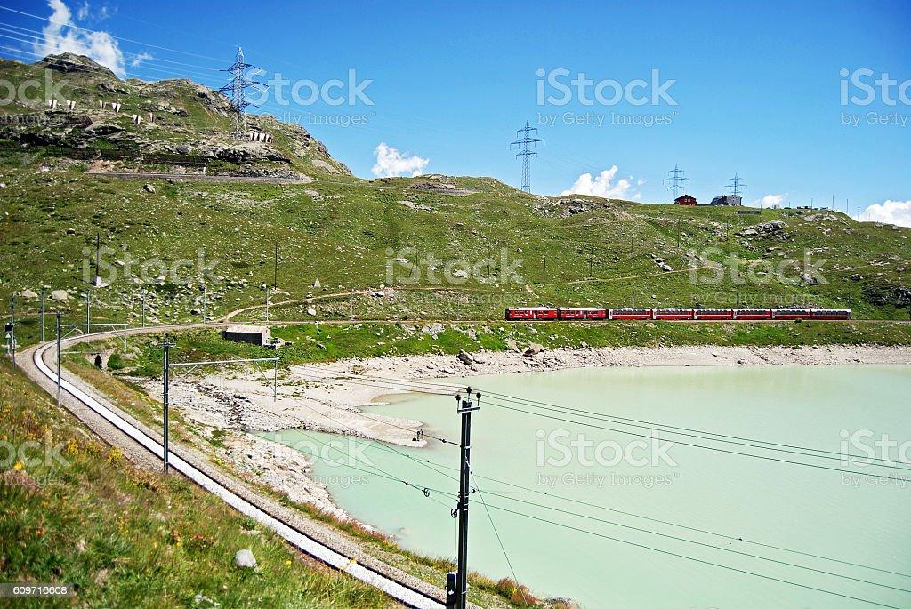 Bernina Express stock photo