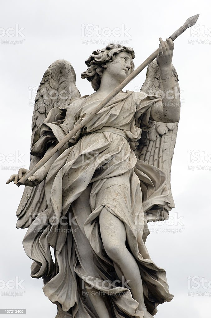 Anjo Bernini em st. Angelo - foto de acervo