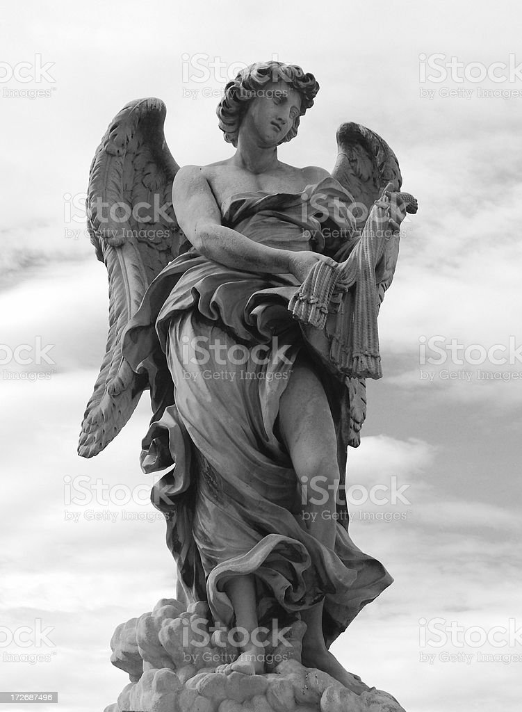Bernini Angel Series stock photo