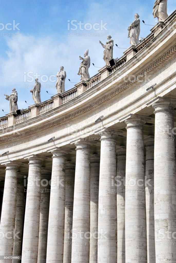 Colunata de Bernini - foto de acervo