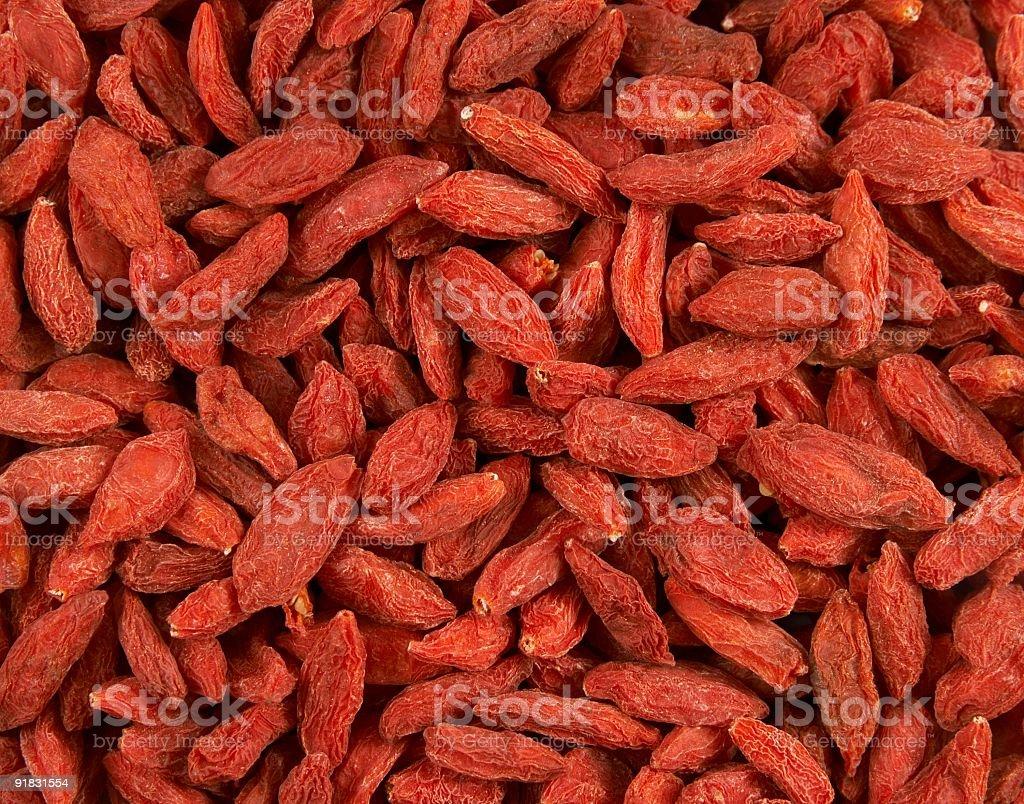 GOJI berries - background royalty-free stock photo