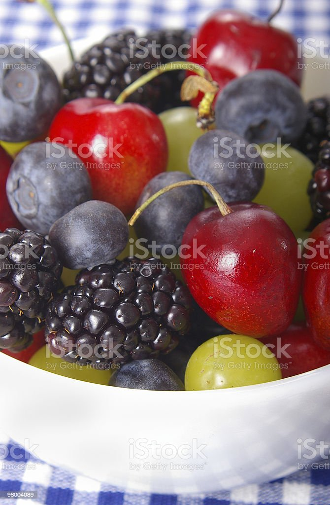 Berries & Cherries royalty-free stock photo