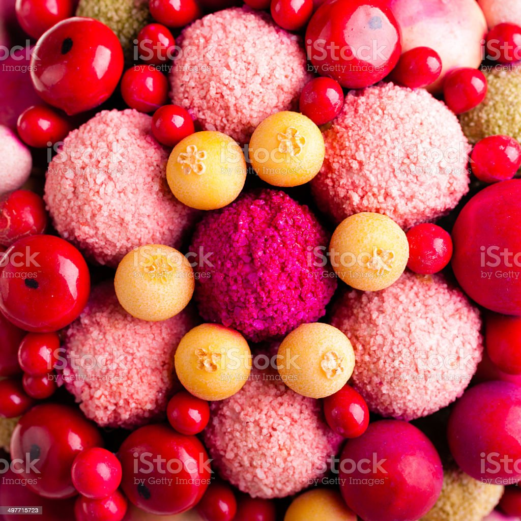 Berries ornament royalty-free stock photo