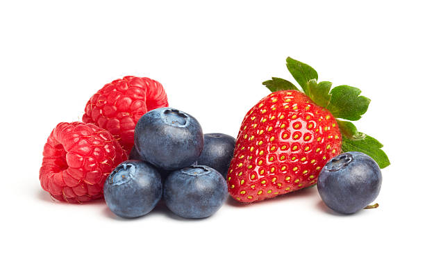 berries - blueberry stock pictures, royalty-free photos & images