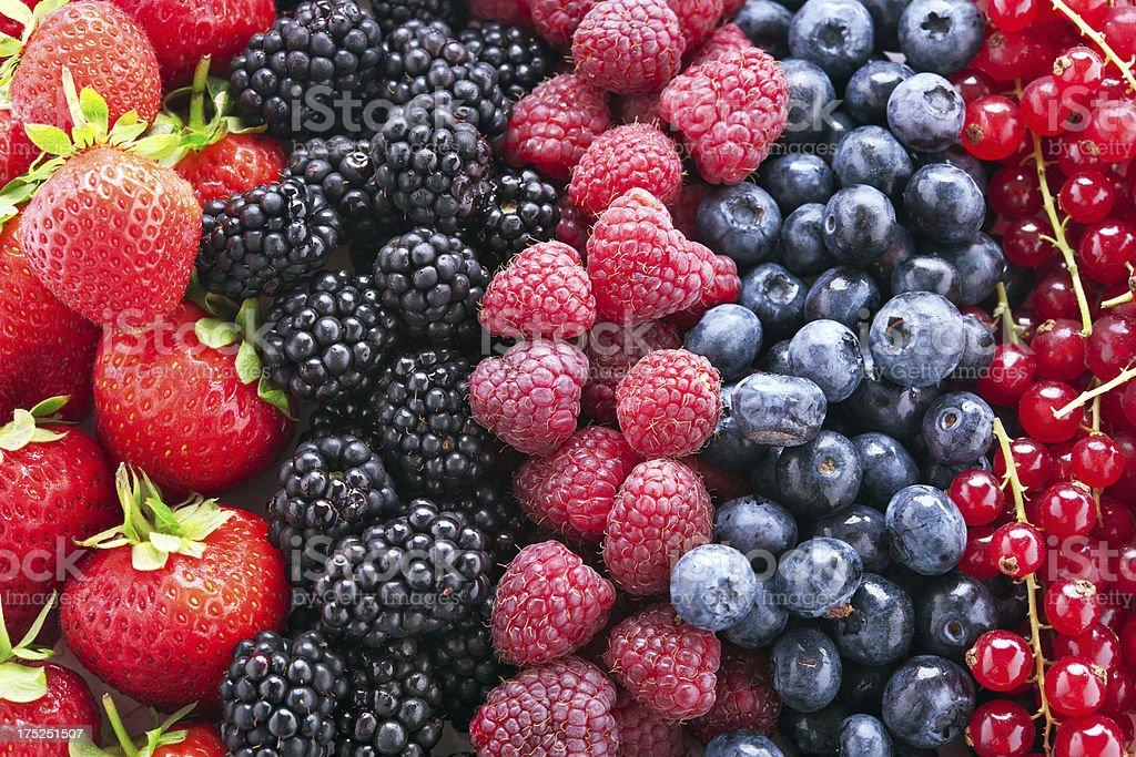 Frutas vermelhas - foto de acervo