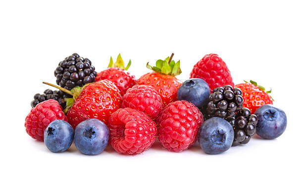 berries - berry stock photos and pictures