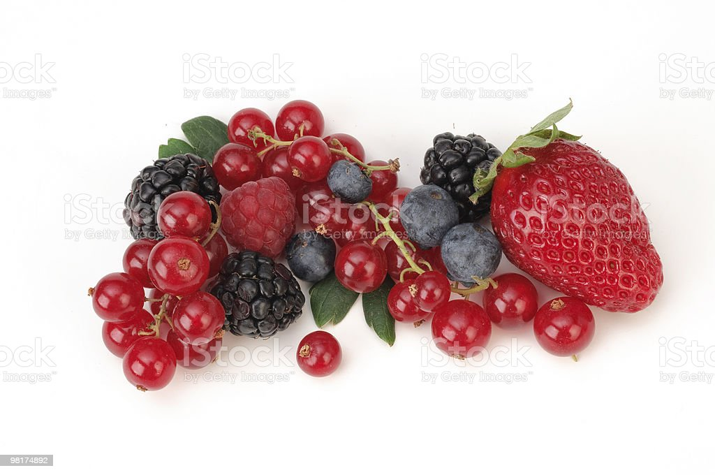 Frutti di bosco royalty-free stock photo