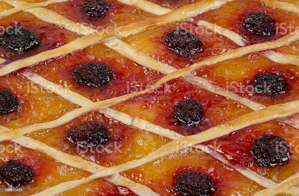 Berries pie. royalty-free stock photo