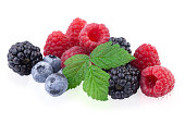 istock Berries Various Isolated on White 480276364