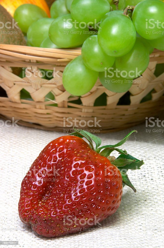Berry Basket #1 royalty-free stock photo