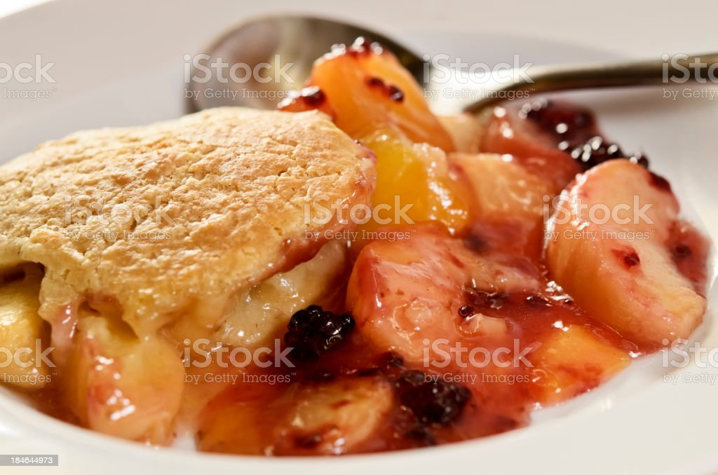 Berry Cobbler royalty-free stock photo