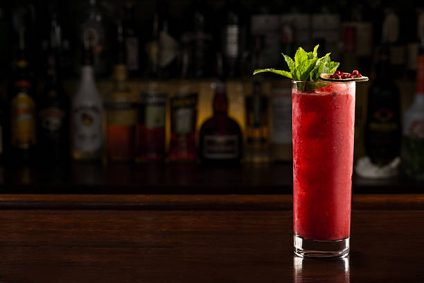 Berry Cooler Cocktail – Foto