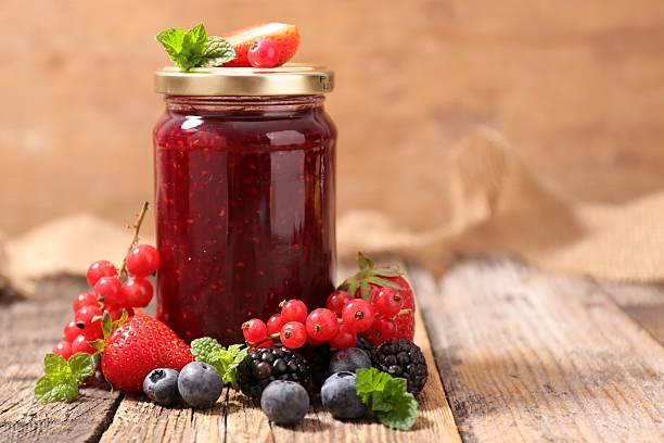 Confiture de fruits fruit - Photo