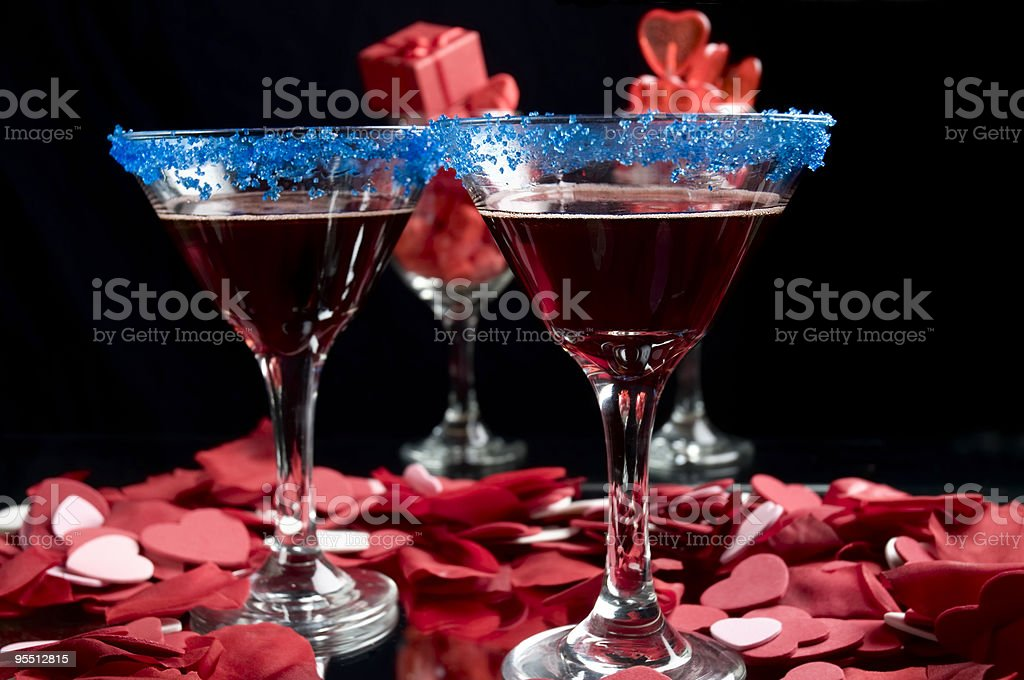 Berry Martini - Royalty-free Alcohol - Drink Stock Photo