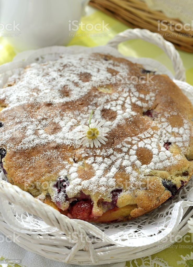 Berry pie royalty-free stock photo
