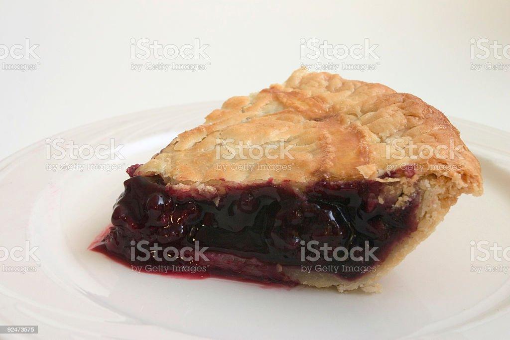 Berry Pie Lizenzfreies stock-foto