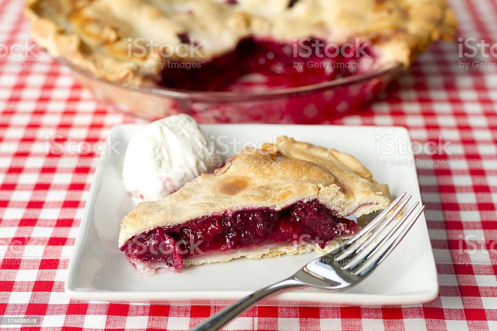 Berry Pie-horizontal stock photo