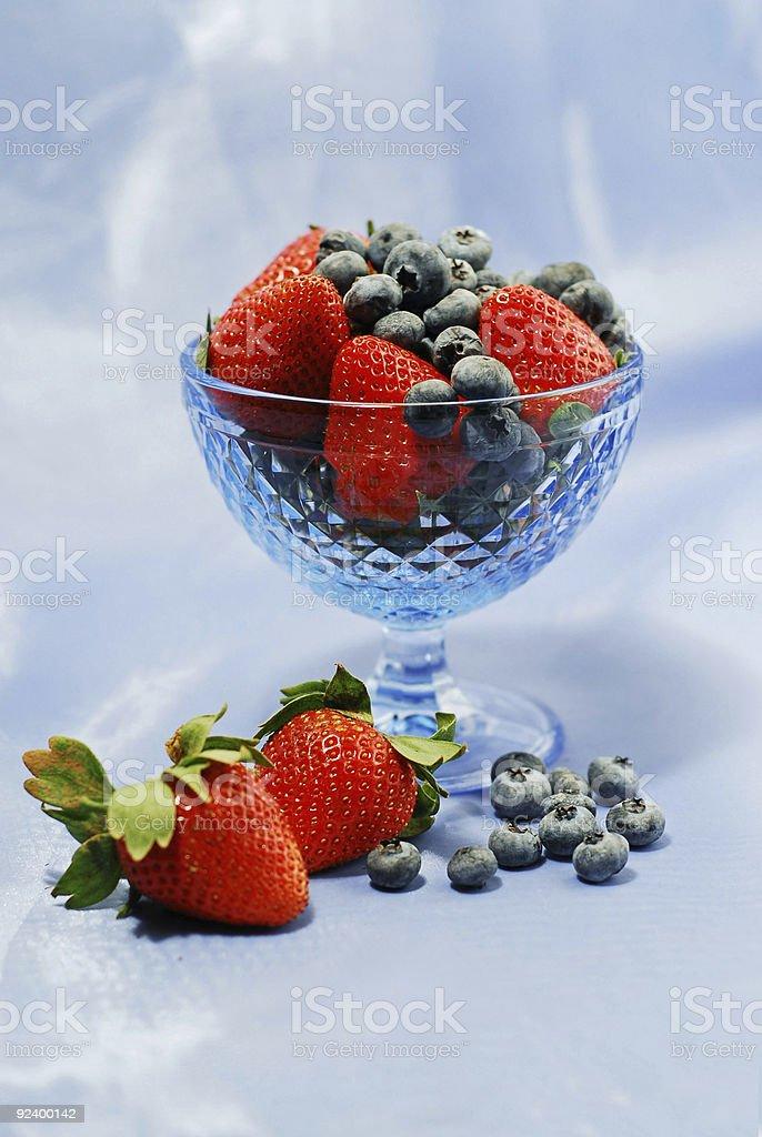 Berry still life royalty-free stock photo